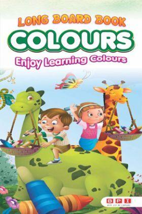Long Board Book Colors
