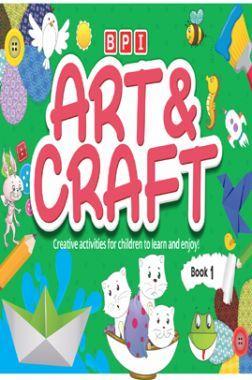 BPI Art And Craft Book - 1