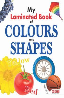 My First Laminated Book - Colours And Shapes