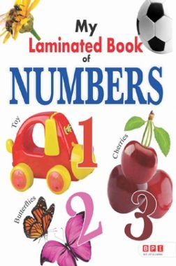My First Laminated Book - Numbers