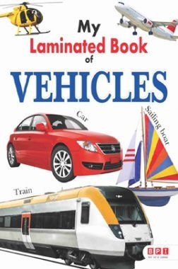 My First Laminated Book - Vehicles