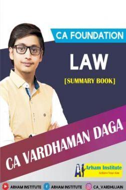 CA Foundation Law (Summary Books)