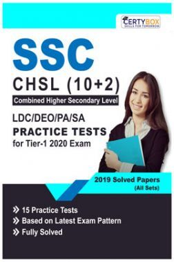 SSC CHSL (10+2) LDC/DEO/PA/SA Practice Tests For Tier-1 2020 Exam