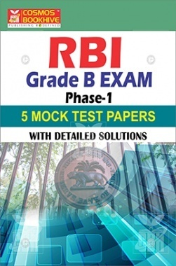RBI Grade Exam Phase-I Mock Test Papers With Detailed Solution