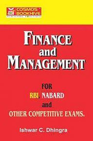 Finance And Management For RBI Nabard And Other Competitive Exams
