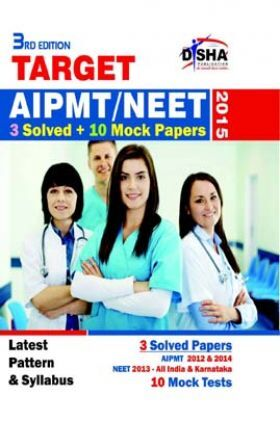 AIPMT-NEET 3 Solved + 10 Mock Papers 2015