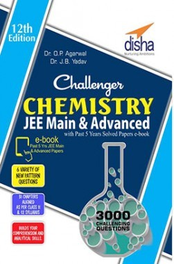 Challenger Chemistry for JEE Main & Advanced with past 5 years Solved Papers ebook (12th edition)