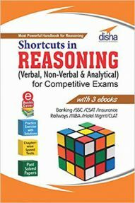Shortcuts In Reasoning (Verbal And Non-Verbal) For Competitive Exams