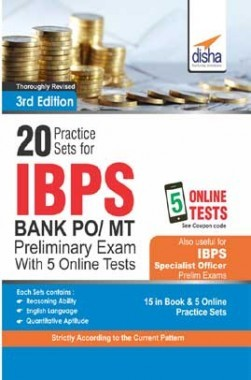 20 Practice Sets For IBPS PO Preliminary Exam With 5 Online Tests 3rd Edition