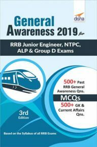 General Awareness 2019 For (RRB Junior Engineer, NTPC, ALP & Group D Exam)