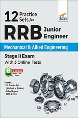 RRB Junior Engineer Mechanical & Allied Engineering Stage II Exam (With 12 Practice Sets)