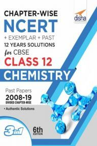 Chapterwise NCERT + Exemplar + Past 12 Years Solutions For CBSE Class 12 Chemistry 6th Edition