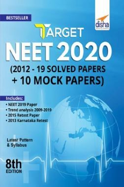 Download Target NEET 2020 (2012 - 19 Solved Papers + 10 Mock Papers) 8th  Edition by Disha Experts PDF Online