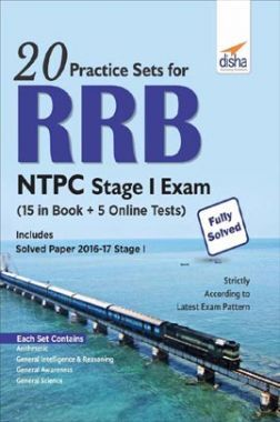 20 Practice Sets For RRB NTPC Stage I Exam