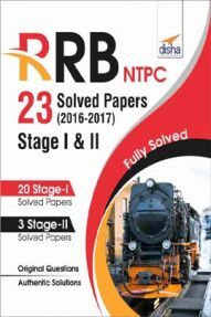 RRB NTPC 23 Solved Papers 2016-17 Stage I & II