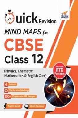Quick Revision Mindmaps For CBSE Class 12 Physics, Chemistry, Mathematics & English Core