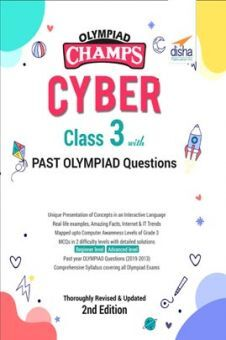 Olympiad Champs Cyber Class 3 With Past Olympiad Questions 2nd Edition