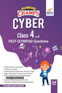 Olympiad Champs Cyber Class 4 With Past Olympiad Questions 2nd Edition