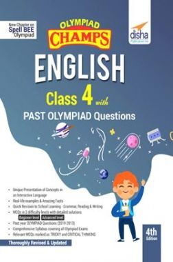 Olympiad Champs English Class 4 With Past Olympiad Questions 4th Edition