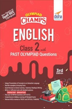 Olympiad Champs English Class 2 With Past Olympiad Questions 3rd Edition