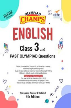 Olympiad Champs English Class 3 With Past Olympiad Questions 4th Edition
