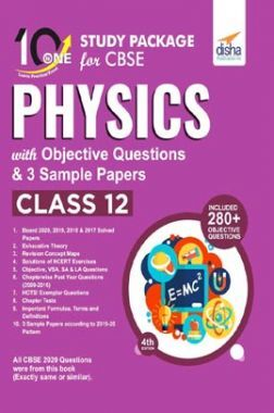 10 In One Study Package For CBSE Physics Class 12 With Objective Questions & 3 Sample Papers 4th Edition