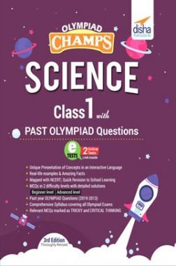 Olympiad Champs Science Class 1 With Past Olympiad Questions 3rd Edition