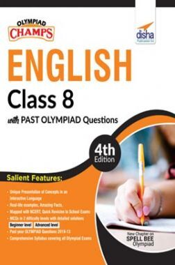 Olympiad Champs English Class 8 With Past Olympiad Questions 4th Edition