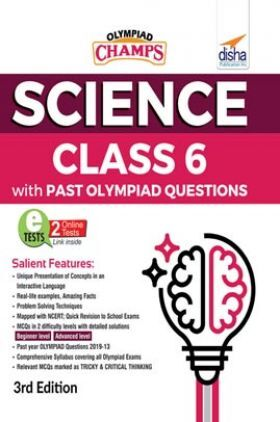 Olympiad Champs Science Class 6 With Past Olympiad Questions 3rd Edition