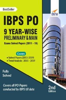 IBPS PO 9 Year-Wise Preliminary & Main Exams Solved Papers (2011-19)