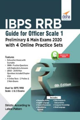 IBPS RRB Guide For Officer Scale 1 Preliminary & Main Exams 2020 With 4 Online Practice Sets 6th Edition