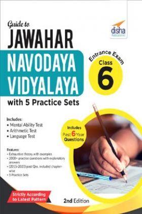Guide To Jawahar Navodaya Vidyalaya Entrance Exam Class 6 With 5 Practice Sets 2nd Edition