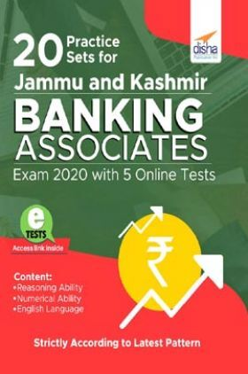 20 Practice Sets For Jammu And Kashmir Banking Associates Exam 2020 With 5 Online Tests