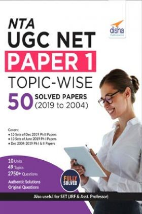 NTA UGC NET Paper 1 Topic-Wise 50 Solved Papers (2019 to 2004)