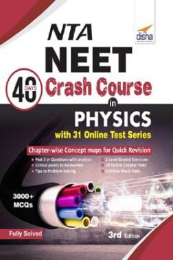 NTA NEET 40 Days Crash Course In  Physics With 31 Online Test Series 3rd Edition