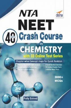 NTA NEET 40 Days Crash Course In  Chemistry With 32 Online Test Series 3rd Edition