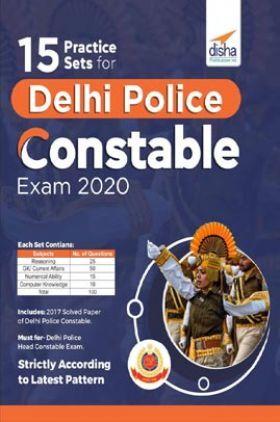 15 Practice Sets For Delhi Police Constable Exam 2020