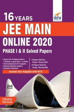 16 Years JEE Main Online 2020 Phase I & II Solved Papers