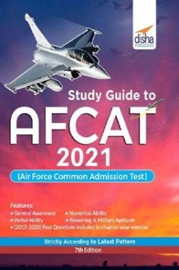 Study Guide to AFCAT 2021 (Air Force Common Admission Test) 7th Edition