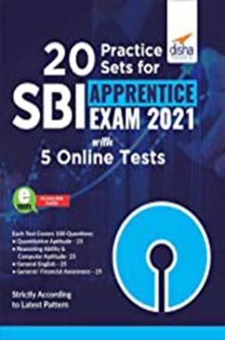 20 Practice Sets For SBI Apprentice Exam 2021 With 5 Online Tests
