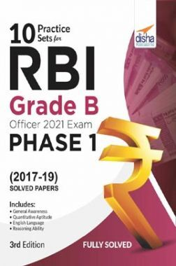 10 Practice Sets For RBI Grade B Officers Exam 2020 Phase 1 - 3rd Edition