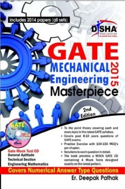 Download GATE Mechanical Engineering 2015 by Disha Publication PDF Online