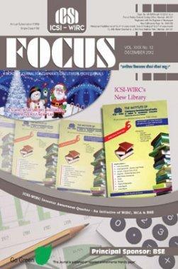 e-Focus December 2012 by ICSI