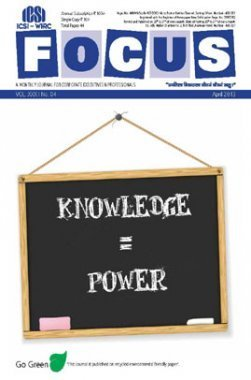 e-Focus April 2013 by ICSI