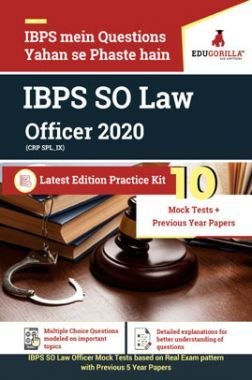 EduGorilla IBPS SO Law Officer 2020
