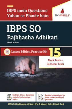 EduGorilla IBPS SO Rajbhasha Adhikari (Pre & Mains)