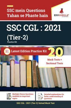 EduGorilla SSC CGL: 2021 Tier-II (Practice Kit)