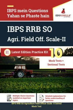 EduGorilla IBPS RRB SO Agri. Field Off. Scale-II