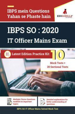 EduGorilla IBPS SO : 2020 IT Officer Mains Exam