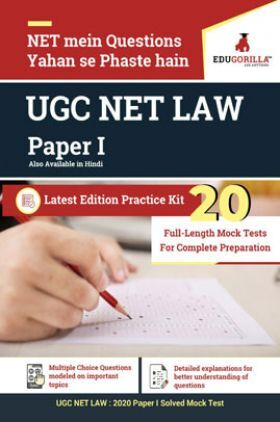 EduGorilla UGC NET LAW Paper I